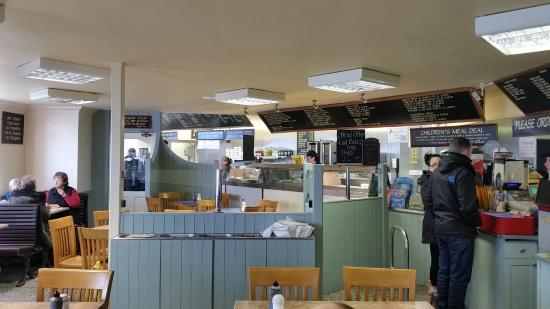Park RD Fish and Chip Shop: Inside view