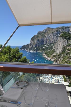 Risotto with seafood Ristorante Terrazza Brunella Capri - Picture of ...
