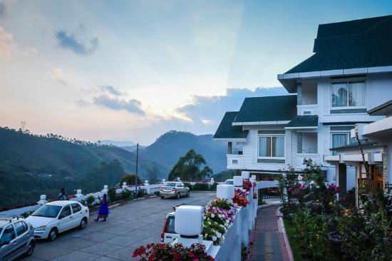 Elysium Garden Hill Resorts: View from our terrace