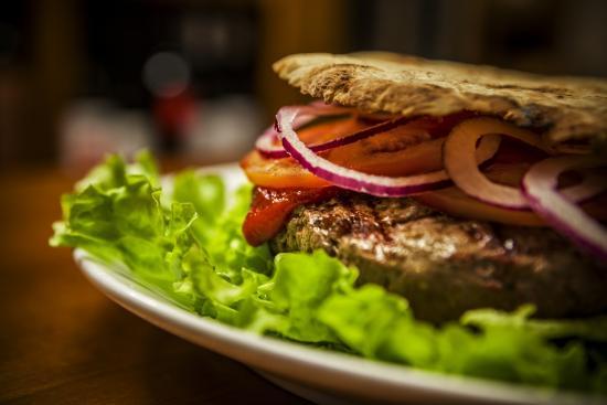Ristorante Enoteca Il Vino di SUP : Hamburger di Sup
