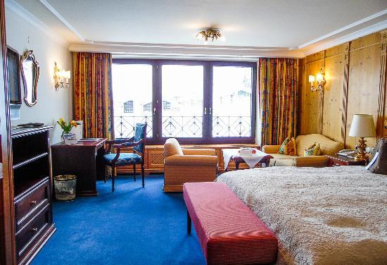 Zurserhof Hotel: Doppelzimmer mit Blick Richtung Zürs