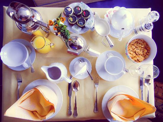 Frühstückservice am Zimmer