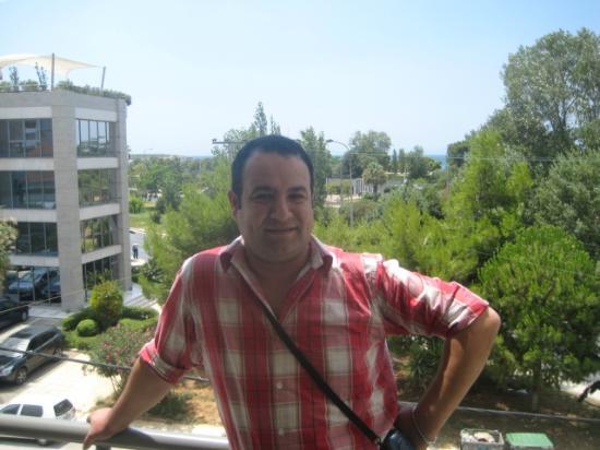 Minavra Hotel: in balacony