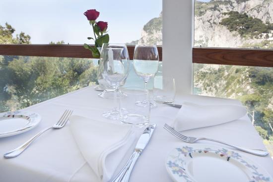 Antonio & Eduardo Ristorante Terrazza Brunella Capri - Picture of ...