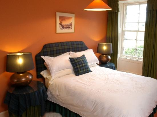 Penpont, UK: Luxury Tartan bedroom  at Scaurbridge House
