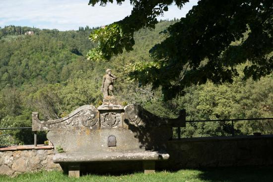 Vagliagli, Italien: Gardens