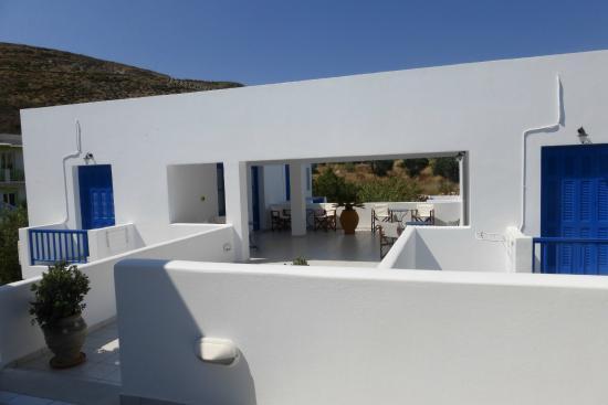 Hotel Eleni: La terrasse