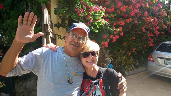 My Tulum Cabanas: My friend Alberto