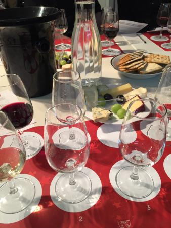 West London Wine School - Day Classes : Wine and cheese tasting