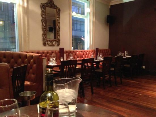 The Living Room - Leeds: Ground floor dining area