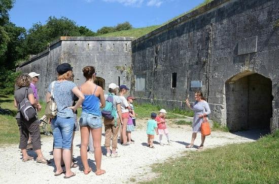Visite au fort li dot photo de office de tourisme rochefort oc an 39 le d 39 aix tripadvisor - Rochefort office de tourisme ...