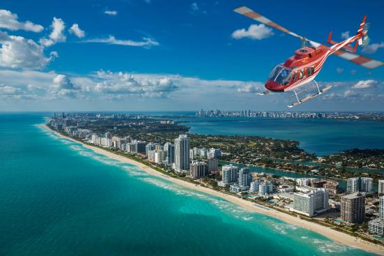 Taste Of Miami Tour  Picture Of Miami Helicopter Inc