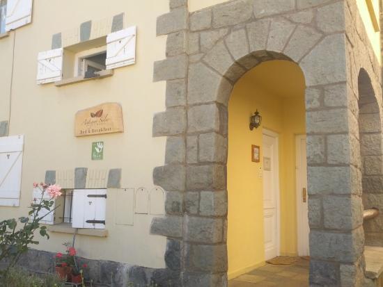 Antiguo Solar: entrée de l'hotel