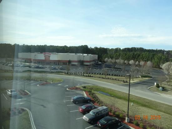 Holiday Inn Express Hotel & Suites Smithfield-Selma I-95: View out the 4th floor window
