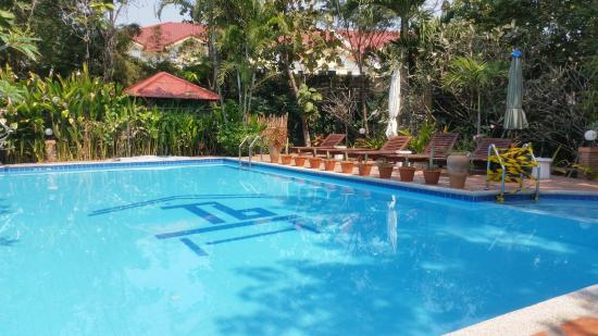 Thai Bamboo Guesthouse : Toller, gepflegter Pool