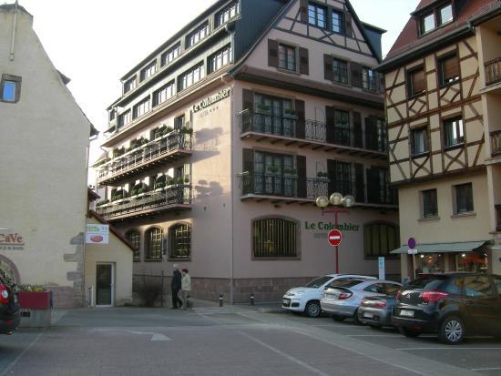 La chambre picture of hotel le colombier obernai for Chambre d hotel france
