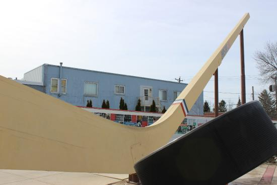 Eveleth, MN: World's Largest Authentic Hockey Stick