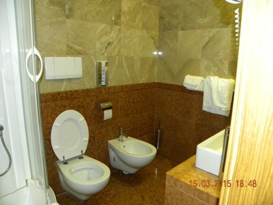 Hotel Columbus : il bagno