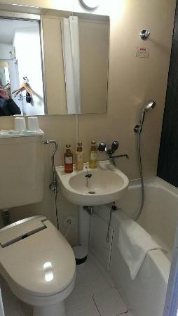 Hotel Mystays Ueno Inaricho: 浴室