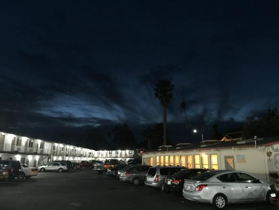 Surf City Inn & Suites: Gorgeous Santa Cruz Night