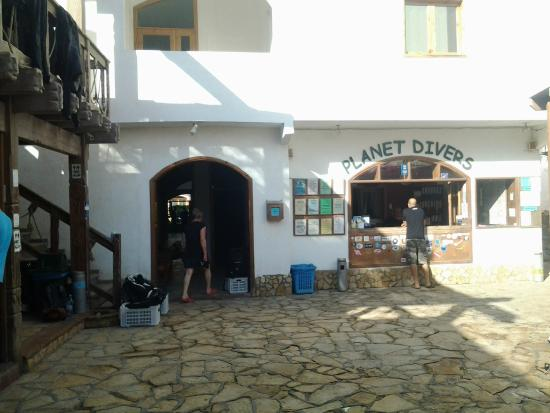Dahab Divers South Sinai Hotel & Dive center: Baza nurkowa