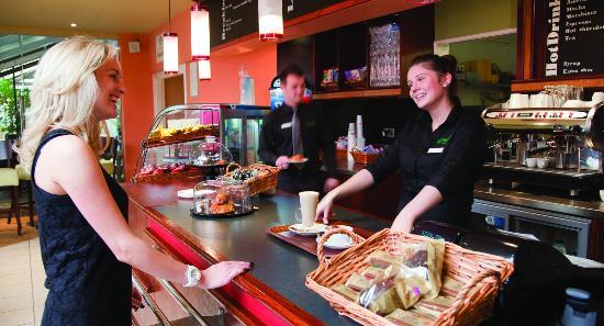 Llanrug, UK: The SPA Café at Brynteg
