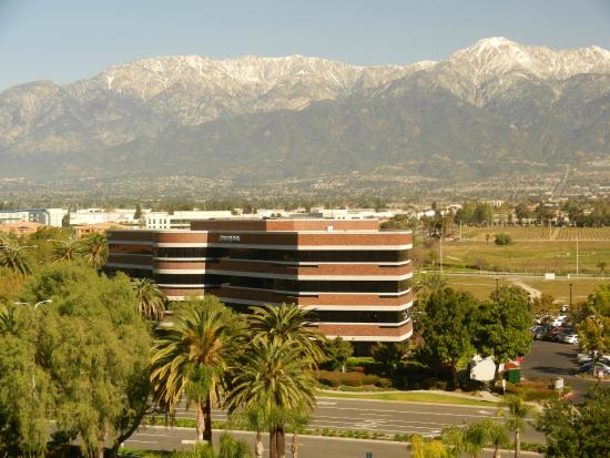 Ontario Airport Hotel and Conference Center: View of Mt. Baldy from our floor.