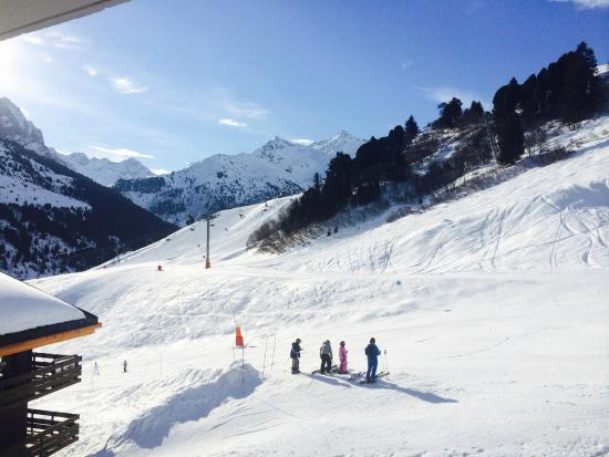 Chalet Hotel Tarentaise: The view from my balcony in room 215