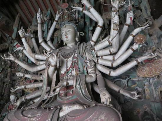 Shuanglin Tempel: Shuanglin Temple 1