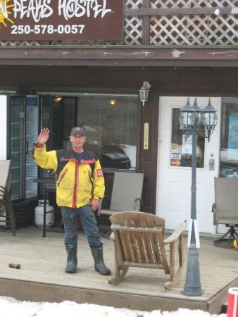 Sun Peaks International Hostel: Andy, the owner/operator