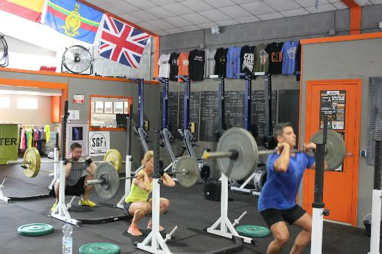 CrossFit Elviria, on the boarder of Mijas and Marbella