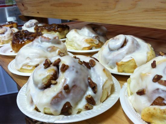 Sandpoint, ID: Cinnamon Rolls & Pecan Sticky Buns offered Tuesday & Thursday~
