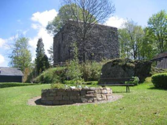 Ruine Rappelstein Nordenau