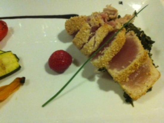Sette Sapori: trancio di tonno mangiato in un altra occasione