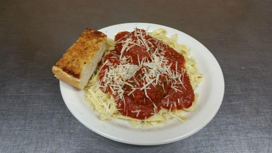 Republic Pizza Co. : Spaghetti with Meat Balls