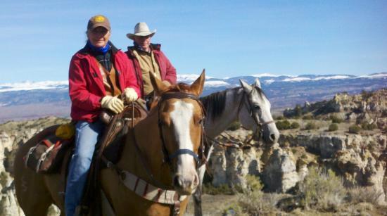 Ten Broek RV Park & Cabins & Horse Hotel: Riding in the Big Horns
