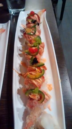 Sakura Japanese Steak House : Wisconsin Roll
