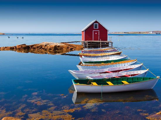 Newfoundland and Labrador, Canada: Joe Batt's Arm, Fogo Island