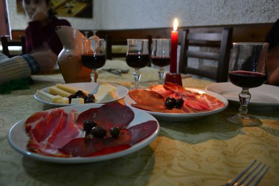 La Castellana: gli antipasti