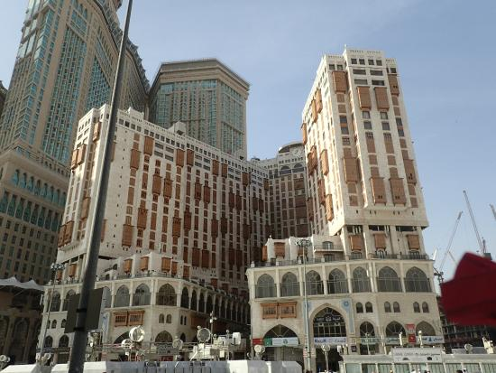 Makkah Hilton Towers: Hotel view from Mosque side