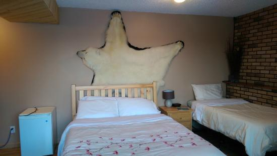 Narwal B&B: Polar bear deco