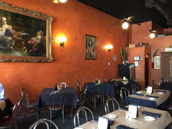 La Terraza Ristorante\'s decor is simple and warm. - Picture of La ...