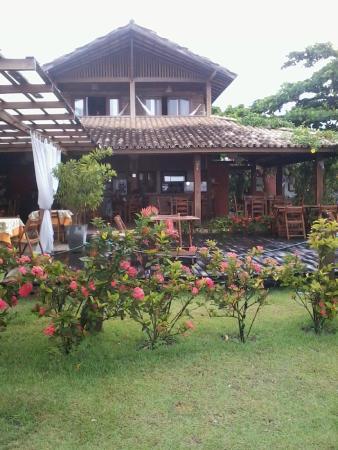 Restaurante Club do Balanço: Vista da calçada.