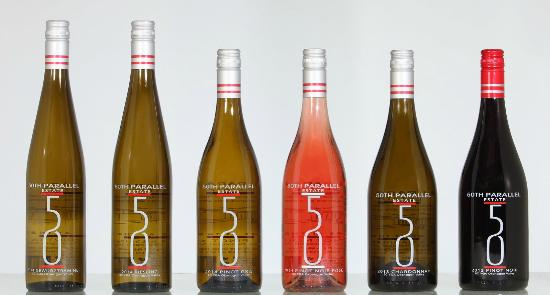 50th Parallel Estate Winery: 50th Parallel Estate - 2015 releases