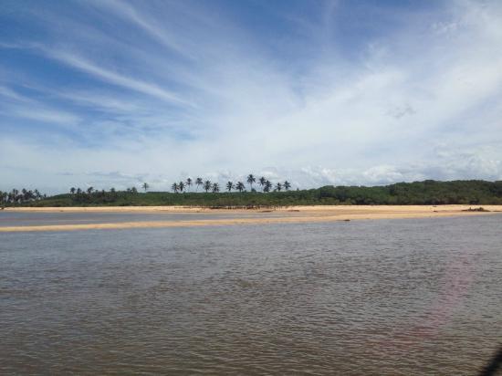 Alcobaca Beach: Parte do Rio, não fiz a foto do encontro, esqueci
