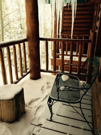The Bivvi Hostel: Room 205 Balcony