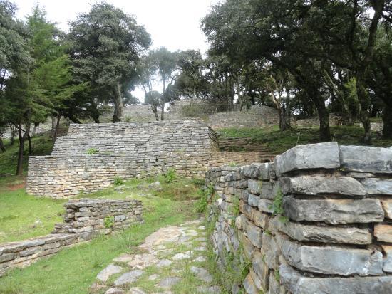 Ranas y Toluquilla Archaeological Site: area