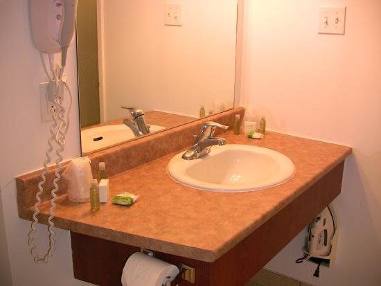 Hotel Les Suites Labelle : Salle de bain bien équipée