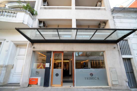 Tribeca Studios: Entrance