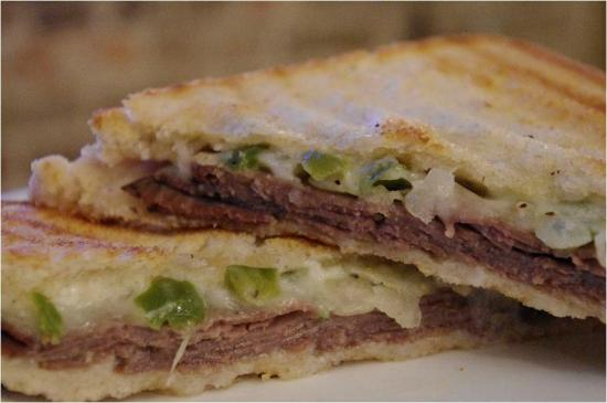 Jefferson City, Теннесси: Philly steak panini